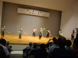 イベントでの演技1