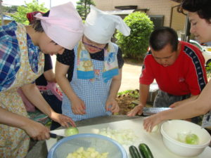 調理実習の様子1